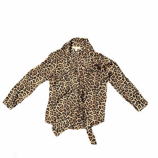 Primary Photo - BRAND: MICHAEL BY MICHAEL KORS STYLE: TOP LONG SLEEVE COLOR: ANIMAL PRINT SIZE: S SKU: 196-14511-47049