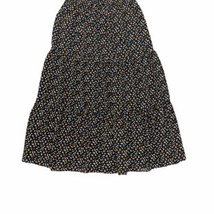 Primary Photo - BRAND: MADEWELL STYLE: SKIRT COLOR: BLACK SIZE: XS SKU: 196-19681-77551