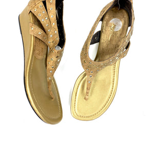 Primary Photo - BRAND: DONALD J PILNERSTYLE: SANDALS LOWCOLOR: TANSIZE: 8SKU: 196-196138-107