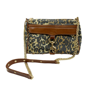 Primary Photo - BRAND: REBECCA MINKOFF STYLE: HANDBAG DESIGNER COLOR: ANIMAL PRINT SIZE: SMALL SKU: 196-196112-56229
