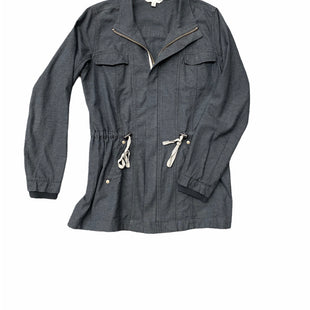 Primary Photo - BRAND: CABI STYLE: JACKET OUTDOOR COLOR: CHARCOAL SIZE: S SKU: 196-19666-17864