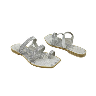 Primary Photo - BRAND: DOLCE VITA STYLE: SANDALS LOW COLOR: SILVER SIZE: 8 SKU: 196-196132-3397