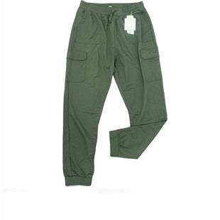 Primary Photo - BRAND:    R. SOFIASTYLE: ATHLETIC PANTS COLOR: OLIVE SIZE: 1X OTHER INFO: R. SOPHIA - SKU: 196-196145-2973