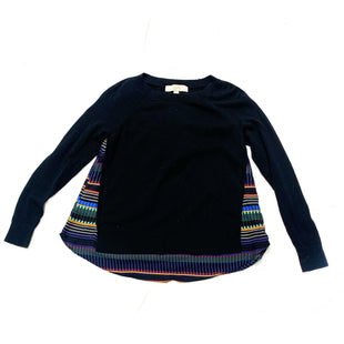 Primary Photo - BRAND: ANN TAYLOR LOFTSTYLE: SWEATER LIGHTWEIGHTCOLOR: BLACKSIZE: XSSKU: 196-19692-25735