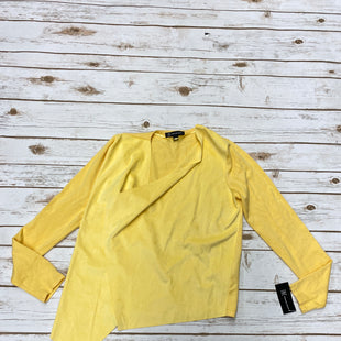 Primary Photo - BRAND: INTERNATIONAL CONCEPTS STYLE: SWEATER CARDIGAN LIGHTWEIGHT COLOR: YELLOW SIZE: M SKU: 196-196136-4345