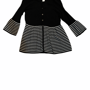 Primary Photo - BRAND: WORTHINGTON STYLE: SWEATER LIGHTWEIGHT COLOR: BLACK WHITE SIZE: S SKU: 196-196133-4785