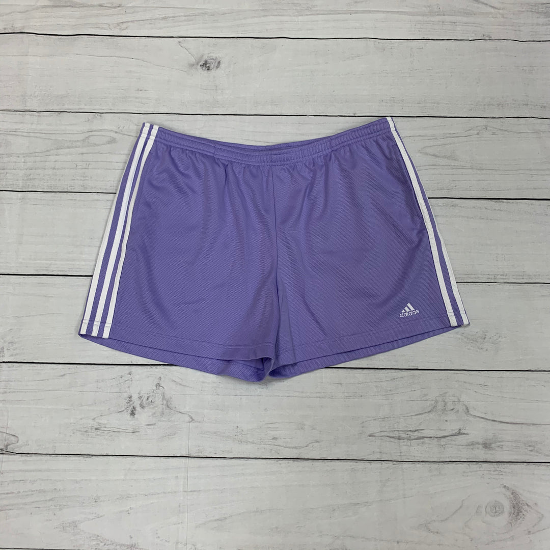 Primary Photo - BRAND: ADIDAS <BR>STYLE: ATHLETIC SHORTS <BR>COLOR: PURPLE <BR>SIZE: XL <BR>SKU: 196-196141-4283