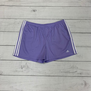 Primary Photo - BRAND: ADIDAS STYLE: ATHLETIC SHORTS COLOR: PURPLE SIZE: XL SKU: 196-196141-4283