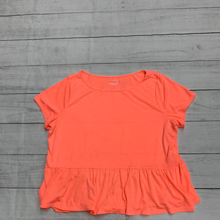 Primary Photo - BRAND: LANE BRYANT STYLE: TOP SHORT SLEEVE COLOR: ORANGE SIZE: 2X SKU: 196-196138-2926