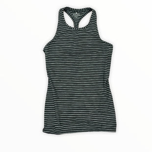 Primary Photo - BRAND: ATHLETA STYLE: ATHLETIC TANK TOP COLOR: BLACK SIZE: XS OTHER INFO: AND GREY SKU: 196-196112-52566