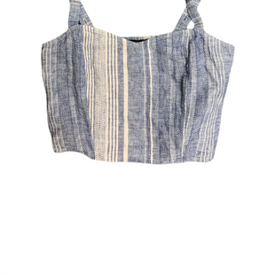 Primary Photo - BRAND: EXPRESS STYLE: TOP SLEEVELESS COLOR: BLUE WHITE SIZE: XS SKU: 196-196112-56813