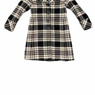 Primary Photo - BRAND: MICHAEL BY MICHAEL KORS STYLE: COAT WOOL COLOR: PLAID SIZE: M SKU: 196-14511-47725