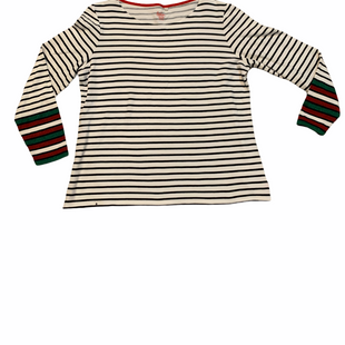 Primary Photo - BRAND: BODEN STYLE: TOP LONG SLEEVE COLOR: WHITE BLACK SIZE: 1X SKU: 196-196112-55542