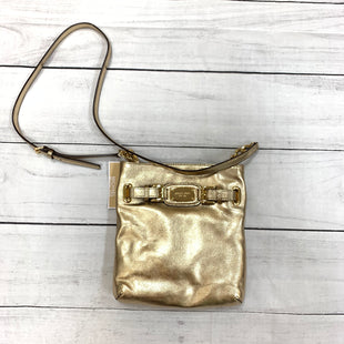 Primary Photo - BRAND: MICHAEL KORS STYLE: HANDBAG DESIGNER COLOR: GOLD SIZE: SMALL OTHER INFO: NEW! SKU: 196-19681-71943