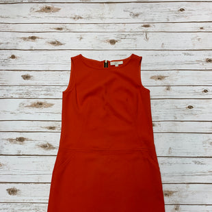 Primary Photo - BRAND: LOFT STYLE: DRESS SHORT SLEEVELESS COLOR: ORANGE SIZE: S SKU: 196-196136-4031