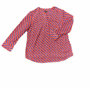 Primary Photo - BRAND: TALBOTS STYLE: TOP LONG SLEEVE COLOR: RED BLUE SIZE: PETITE OTHER INFO: XL SKU: 196-196112-53567