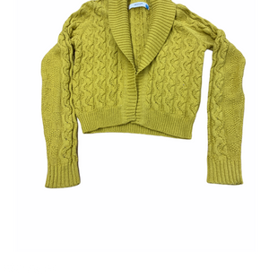 Primary Photo - BRAND: SPARROW STYLE: SWEATER CARDIGAN HEAVYWEIGHT COLOR: MUSTARD SIZE: M SKU: 196-196112-52009