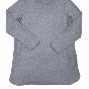Primary Photo - BRAND: J JILL STYLE: TOP LONG SLEEVE BASIC COLOR: GREY SIZE: M SKU: 196-19681-74082