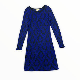 Primary Photo - BRAND: MICHAEL BY MICHAEL KORS STYLE: DRESS SHORT LONG SLEEVE COLOR: BLUE SIZE: M SKU: 196-196135-2602