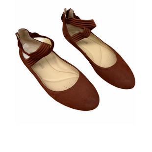 Primary Photo - BRAND: CLARKS STYLE: SHOES FLATS COLOR: RUST SIZE: 7.5 SKU: 196-196112-49453