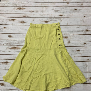 Primary Photo - BRAND: FREE PEOPLE STYLE: SKIRT COLOR: YELLOW SIZE: 6 SKU: 196-14511-45406