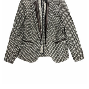 Primary Photo - BRAND: RAG AND BONE STYLE: BLAZER JACKET COLOR: BLACK WHITE SIZE: S OTHER INFO: DESIGNER SKU: 196-14511-47350