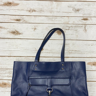 Primary Photo - BRAND: REBECCA MINKOFF STYLE: HANDBAG COLOR: BLUE SIZE: LARGE SKU: 196-196128-5497