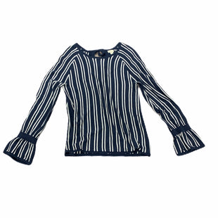Primary Photo - BRAND: HINGE STYLE: SWEATER LIGHTWEIGHT COLOR: BLUE WHITE SIZE: XS SKU: 196-19681-72224