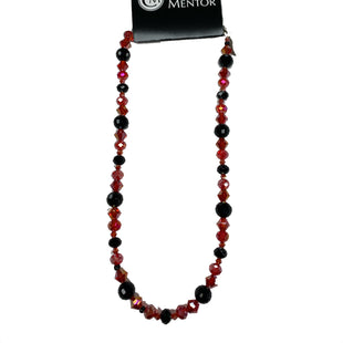 Primary Photo - BRAND: STYLE: NECKLACECOLOR: RED BLACKOTHER INFO: SWARVSKI AND BONFIRE CRYSTALS -SKU: 196-14511-45202