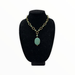 Primary Photo - BRAND: LIA SOPHIA JEWELRY STYLE: NECKLACE COLOR: GREEN SKU: 196-196112-54947