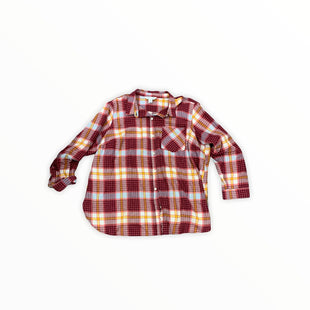 Primary Photo - BRAND: OLD NAVY STYLE: TOP LONG SLEEVE COLOR: PLAID SIZE: 2X OTHER INFO: FLANNEL SKU: 196-14511-47674
