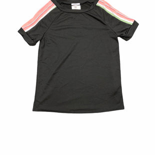 Primary Photo - BRAND: WHITE BIRCH STYLE: TOP SHORT SLEEVE COLOR: BLACK SIZE: S SKU: 196-19666-17950R