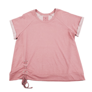 Primary Photo - BRAND: LIVI ACTIVE STYLE: ATHLETIC TOP SHORT SLEEVE COLOR: DUSTY PINK SIZE: 2X SKU: 196-196144-692