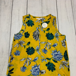 Primary Photo - BRAND: C AND C STYLE: TOP SLEEVELESS COLOR: YELLOW SIZE: M SKU: 196-19681-70985