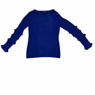 Primary Photo - BRAND:    DOMANISTYLE: SWEATER CARDIGAN LIGHTWEIGHT COLOR: BLUE SIZE: S OTHER INFO: DOMANI - SKU: 196-196138-3418
