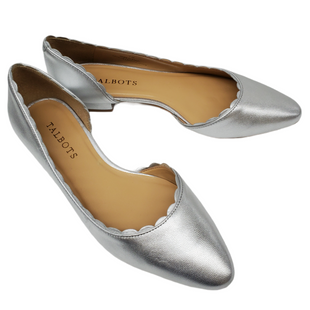 Primary Photo - BRAND: TALBOTS STYLE: SHOES FLATS COLOR: SILVER SIZE: 7 SKU: 196-196112-56443