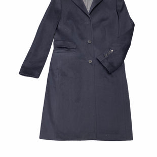 Primary Photo - BRAND: AKRIS PUNTOSTYLE: COAT WOOL COLOR: NAVY SIZE: M  SKU: 196-19681-74409