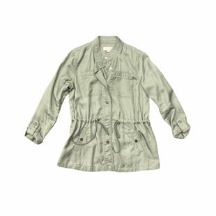 Primary Photo - BRAND: ANN TAYLOR LOFT STYLE: JACKET OUTDOOR COLOR: OLIVE SIZE: XS SKU: 196-196138-3402