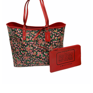 Primary Photo - BRAND: COACH STYLE: HANDBAG DESIGNER COLOR: FLORAL SIZE: LARGE SKU: 196-19666-17192