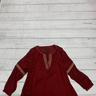 Primary Photo - BRAND: LANE BRYANT STYLE: TOP LONG SLEEVE COLOR: MAROON SIZE: 2X SKU: 196-196112-51318