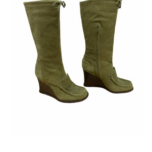 Primary Photo - BRAND: BCBGMAXAZRIA O STYLE: BOOTS KNEE COLOR: GREEN SIZE: 7 SKU: 196-14511-46233