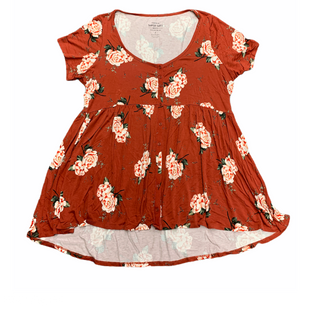 Primary Photo - BRAND: TORRID STYLE: TOP SHORT SLEEVE COLOR: BRICK RED SIZE: XL SKU: 196-19694-34511