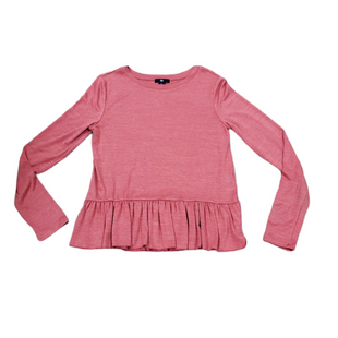 Primary Photo - BRAND: GAP O STYLE: TOP LONG SLEEVE COLOR: PINK SIZE: S SKU: 196-196136-5088