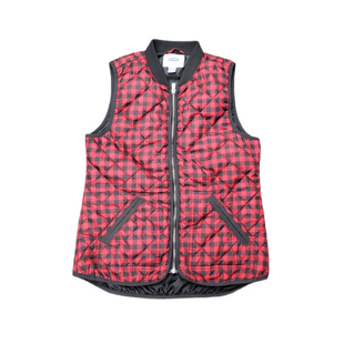 Primary Photo - BRAND: OLD NAVY STYLE: VEST DOWN COLOR: RED BLACK SIZE: S SKU: 196-196112-56041