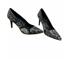 Primary Photo - BRAND: CALVIN KLEIN STYLE: SHOES HIGH HEEL COLOR: SNAKESKIN PRINT SIZE: 7.5 SKU: 196-196112-51273