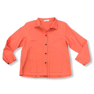 Primary Photo - BRAND:  VITAMINSTYLE: JACKET OUTDOOR COLOR: CORAL SIZE: M OTHER INFO: VITAMIN - SKU: 196-14511-46864