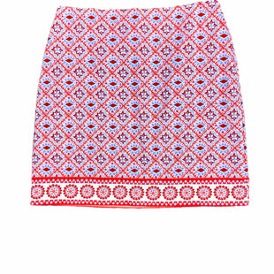 Primary Photo - BRAND: TALBOTS STYLE: SKIRT COLOR: RED BLUE SIZE: 4 SKU: 196-196112-57847