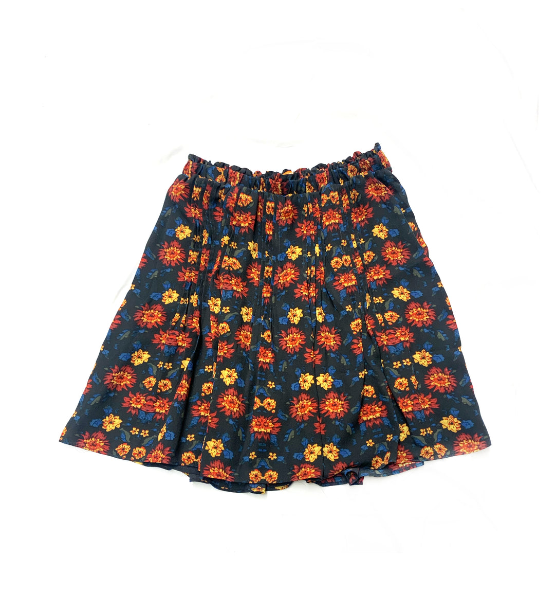 Primary Photo - BRAND: JOE FRESH<BR>STYLE: SKIRT<BR>COLOR: BLACK RED<BR>SIZE: 4<BR>SKU: 196-196112-44973