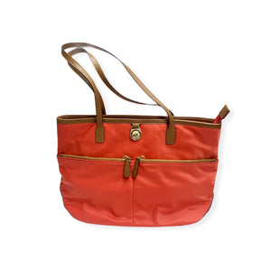 Primary Photo - BRAND: MICHAEL KORS STYLE: HANDBAG DESIGNER COLOR: CORAL SIZE: MEDIUM SKU: 196-19681-72946