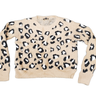 Primary Photo - BRAND: EXPRESS STYLE: SWEATER HEAVYWEIGHT COLOR: ANIMAL PRINT SIZE: S SKU: 196-196112-56364